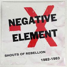 Negative Element-Shouts Of Rebellion 1982 - 1983 LP Chicago Punk HC KBD