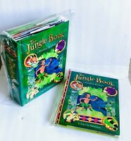 The Jungle Book Pop Up Book +  Promotional Booklet Lot Matthew Reinhart 1st Ed