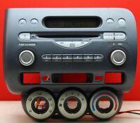 HONDA JAZZ CD AUX RADIO PLAYER CAR STEREO DECODED 2002 2003 2004 2005 2006 2007
