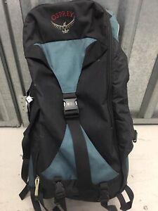 Osprey Waypoint 60 Backpack Rucksack Frontloading Black Blue 60Ltr