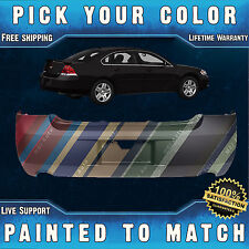 NEW Painted To Match - Rear Bumper Cover for 2006-2013 Chevy Impala Dual Exhaust
