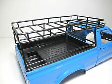 Metal Cargo Tool luggage Roof Rack Tamiya 1/10 RC Toyota Hilux Bruiser Truck