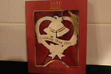 Lenox 2011 Wedding Bells Ornament