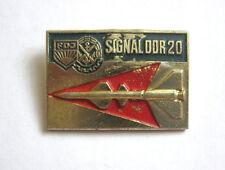 Vintage East Germany Pin Signal DDR 20 FDJ