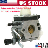 Carburetor For Stihl FS38 HS45 FS45 FS46 FS55 FS74 FS75 FS76 FS80 Chainsaw Parts