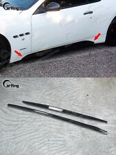 DRY CARBON // CARKING 2012+ Side Skirts Cover For MASERATI GRAN TURISMO GT SPORT