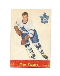 1955-56 Parkhurst:#7 Marc Reaume,Maple Leafs RC