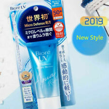 Kao Biore UV SPF50+ AQUA Rich Watery Sunscreen Sunblocks Cream Made In Japan