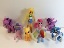 LOT OF 7 HASBRO MY LITTLE PONY'S & COWGIRL -MCDONALDS