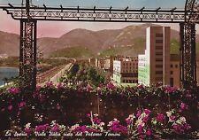 LA SPEZIA - Viale Italia visto dal Palazzo Ferrari 1951