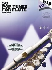 Dip In 50 Graded Pop Flute Solos Learn to Play Lady Gaga Beyonce Rock Music Book