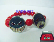 One Piece Portgas D Ace Inspired Bracelet Cosplay Red Bead Perfect Gift