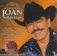 Lo Esencial De Joan Sebastian CD NEW Con 3 CD's + 1 DVD ORIGINAL Nuevo SEALED