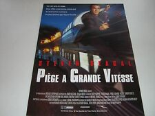 AFFICHE PROMO VIDEO CLUB--PIEGE A GRANDE VITESSE--STEVEN SEAGAL