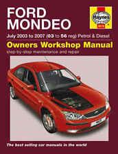 FORD Mondeo Riparazione Manuale Haynes Manuale Officina Manuale 2003-2007 4619