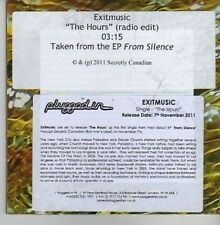 (CV371) Exitmusic, The Hours - 2011 DJ CD