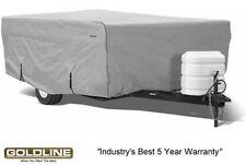 Goldline Premium Folding Pop Up Camper Cover Fits 18 to 20 FT - Grey