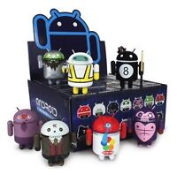 GOOGLE DUNNY ANDREW BELL ANDROID MINI COLLECTIBLE SERIES 3 FULL CASE 16 PCS 3in
