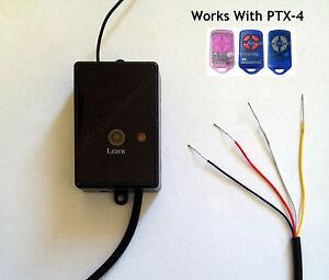 Stand Alone Radio Receiver Accepts ATA PTX-4 Remote Controls replace CRX-1 CRX