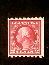 U S stamps Scott 411 two cent Washington coil issue mint cv 22.250