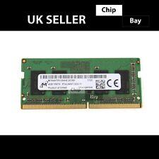 Micron DDR4 4GB 1Rx16 PC4-2400T Laptop RAM Memory Module