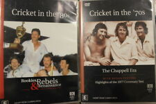 ABC CRICKET IN THE 70S & 80S OOP PAL DVD RARE SPORTS DOCUMENTARY IAN CHAPPELL