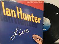 Ian Hunter – Welcome To The Club - Live LP 1980 Chrysalis – CH2 1269 VG+