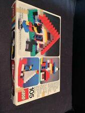 Vintage 1973 Lego Set #105 Universal Building Set Boxed Complete 148 Pieces