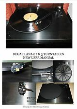 REGA PLANAR 2 & 3 New User Manual