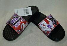 Nike Benassi JDI Print Black/multicolor Size 7 Women's Slides Sandals 618919 024