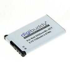 Akku accu Batterie battery für Nokia 6303 classic (ersetzt BL-5CT) - 1100mAh