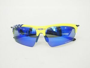 Used  RUDY PROJECT Noyz Sunglasses • Yellow Frame •Blue Lens