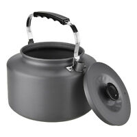 Ultra-light Camping Picnic Water Kettle Teapot Coffee Pot Anodised Aluminum R1Y6