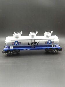 K-Line K636-8017 US Navy Triple Dome Tank Car