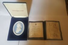Wedgewood Plaque 'Josiah Wedgewood' 1974 Gehäuse with Certificate - 484 of 1000