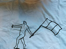 Rapha More Than A Race T-Shirt Figure with Flag White New Club house only RARE