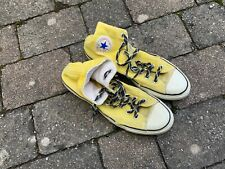 vintage converse chuck Taylor made in Korea size 9.5 extra stitch Usa 80s