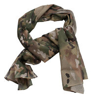 Bandana Scarf Mesh Veil Tactical Military Airsoft Gear Army Airsoft Fast Dry