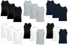 Fruit of the Loom Yes Sleeveless 2-3 T-Shirts for Men