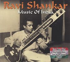 Ravi Shankar-Music of India 3 CD/NUOVO!!!