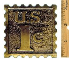 Postage Stamp Paper Weight - Decorative 1 Cent Stamp Paper Weight