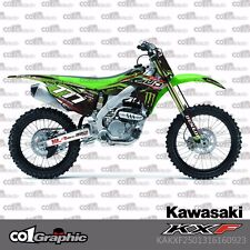 GRAPHICS DECALS STICKERS FULL KIT FOR KAWASAKI KX250F KXF250 2013-2016