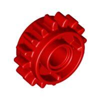 Lego 10x Genuine Technic Bright Red Clutch Z16 Gear Shift Cog 6100930 18946 NEW