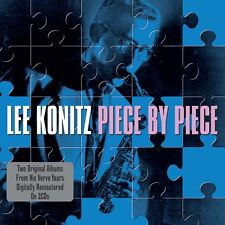 Lee Konitz - Piece by Piece - Two Original Albums (2CD 2013) NEW/SEALED