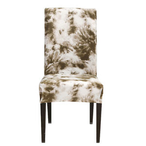 Stretch Graffiti Printed Chair Covers Slipcover for Dining Room Wedding Banquet