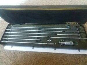 """Moore and Wright Sheffield Imperial Inside Internal Micrometer 2""""-12"""""""
