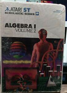 Algebra 1 Volume 2 for Atari Scholastic Series ST