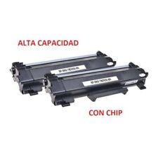 KIT 2 Toner Comp. TN 2420 x BROTHER  MFC-l2710DW HL2310 DCP L2550-L2510 NEW CHIP