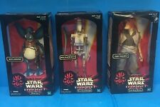 "Star Wars Episode 1 12"" WATTO w/ Datapad -Battle Droid & Jar Jar Binks 1999 FA67"