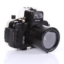 Waterproof 40M 130f Housing Hard Cover Case Bag For Nikon D7100 & 18-55mm Lens